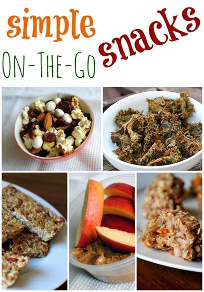 Simple On-The-Go Snacks
