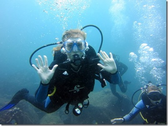 scuba diving pbfingers