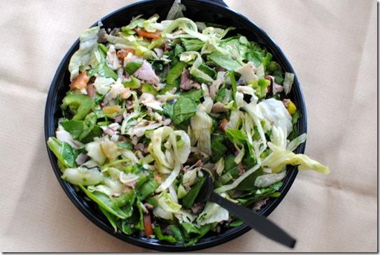 subway club salad
