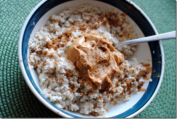 peanut butter oatmeal