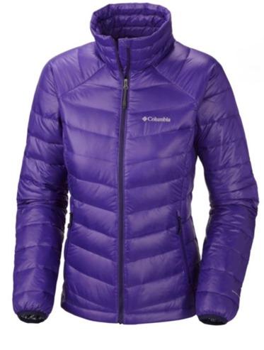 Columbia TurboDown Jacket purple