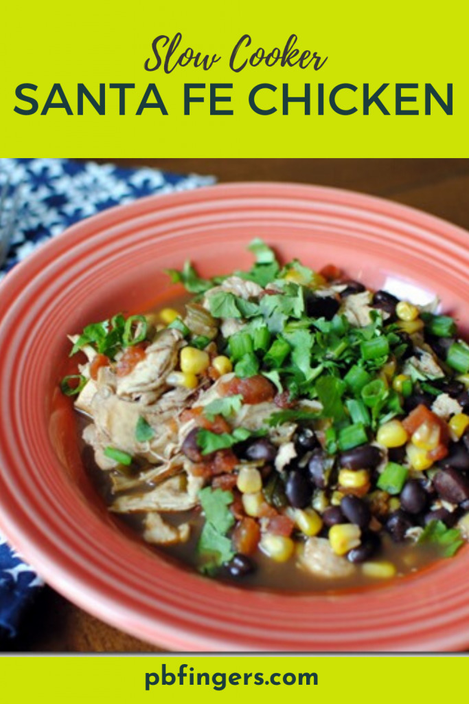 Slow Cooker Santa Fe Chicken