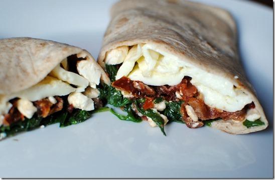 Starbucks Spinach Feta Wrap Recreated