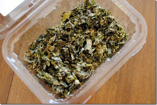 Sweet Onion Kale Chips