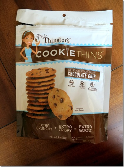 Thinsters Chocolate Chip Cookies