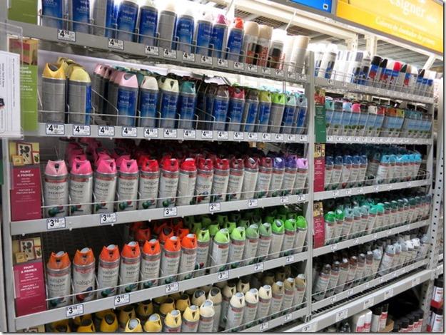 Valspar Spray Paint