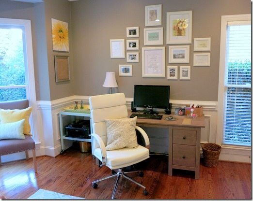 White Home Office Chair