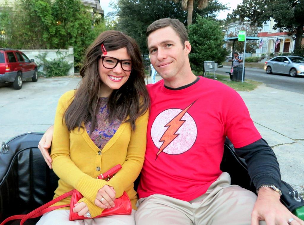 Sheldon and amy costume ideas