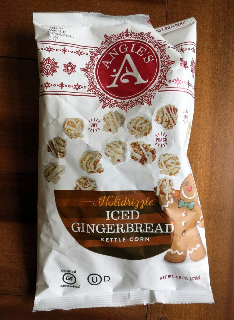 Angies Gingerbread Popcorn