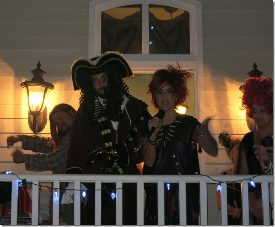 Captain Hook and Rufio Costumes