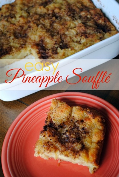 Easy Pineapple Souffle Recipe
