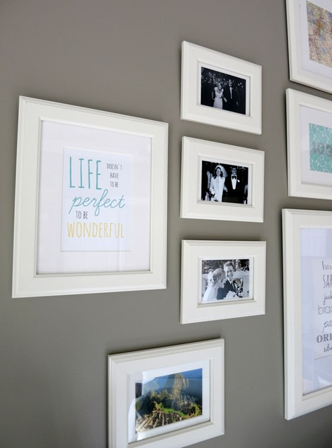 Gallery Wall Frame Ideas