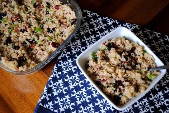Quinoa Salad with Cranberries
