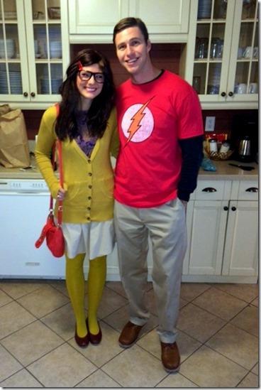 Sheldon and Amy Big Bang Theory Costume
