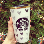 Starbucks Heart Travel Tumbler