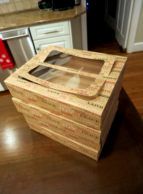 Cookie Exchange Cookie Boxes