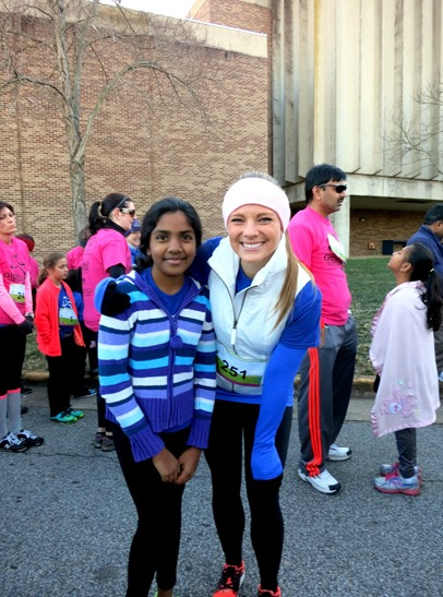 Girls On The Run Running Buddy