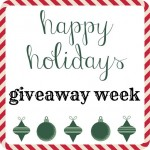 Happy Holidays Giveaway Week