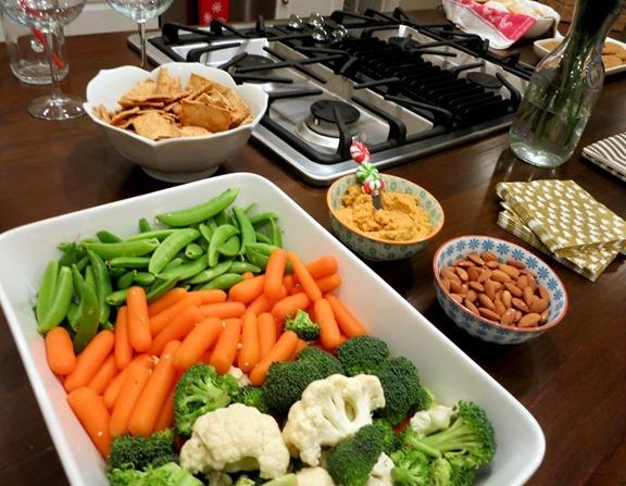 Homemade Veggie Tray