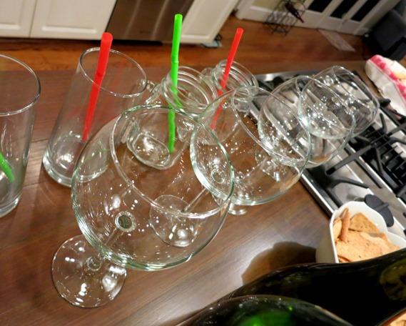 Pier One Balloon Wine Glasses