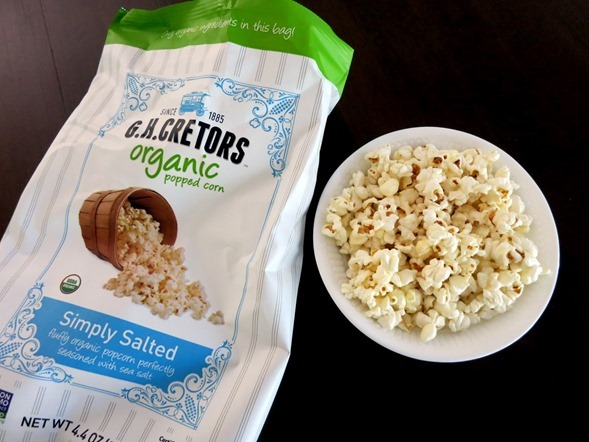 GH Cretors simply salted popcorn