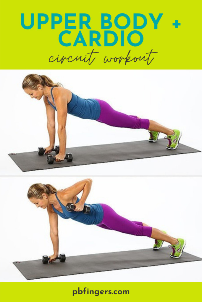 Upper Body + Cardio Workout