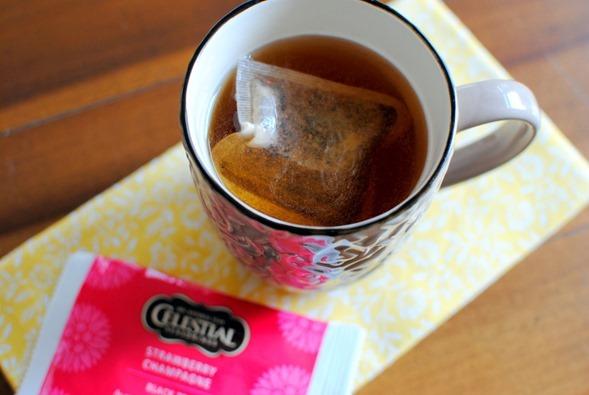 Strawberry Champagne Tea