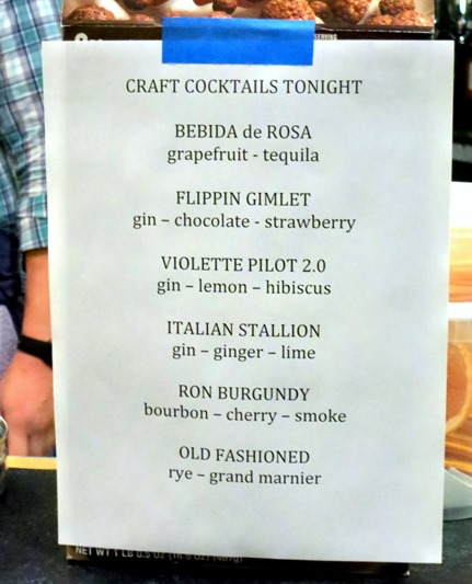 Trevail Cocktails