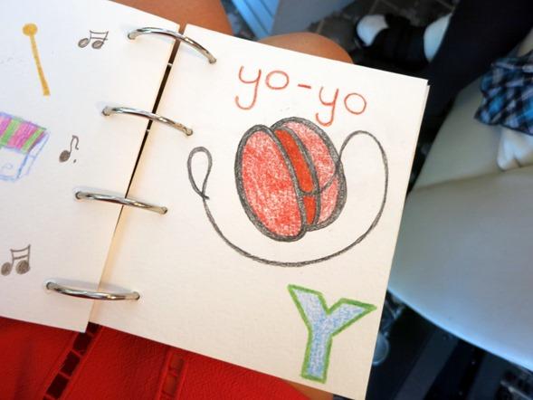 homemade alphabet book
