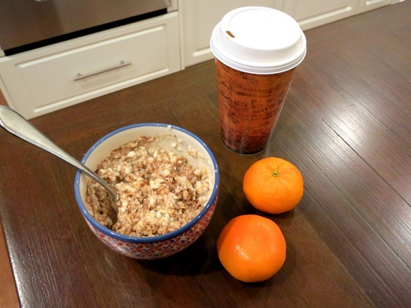 Egg White Protein Oatmeal
