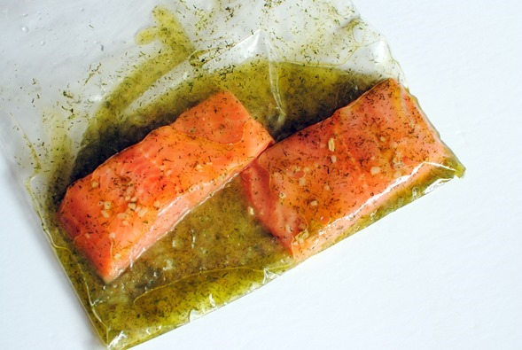 Lemon Dill Salmon Marinade