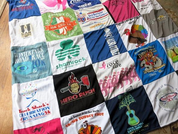 Race T-Shirt Quilt