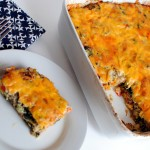 Kale and Sausage Breakfast Casserole