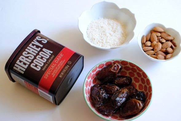 Chocolate Chia Seed Pudding Ingredients
