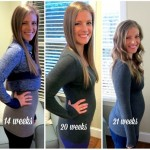 Pregnancy Baby Bump Weeks 11 to 22