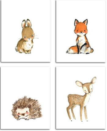 Zulily Nursery Prints