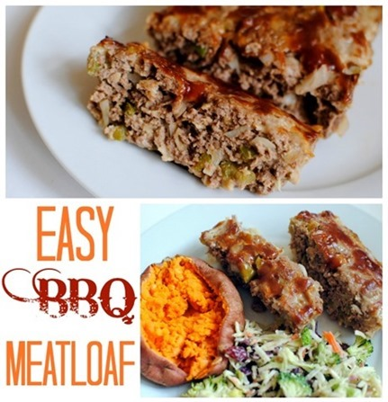 Easy BBQ Meatloaf Recipe