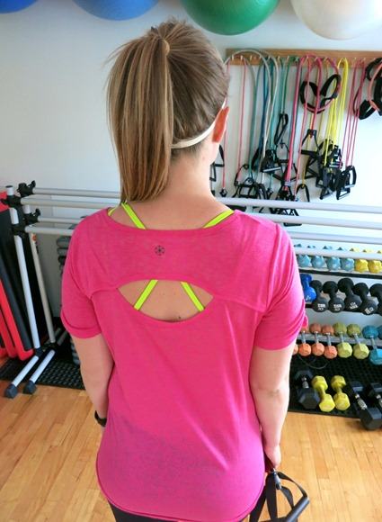 Gaiam Workout Top