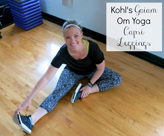 Kohl's Gaiam Yoga Capris
