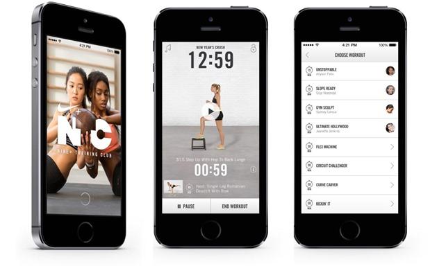 Nike Training Club App