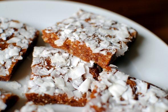 Easy and Healthy No Bake Tropical Energy Bars