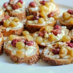 Roasted Grape and Ricotta Toast