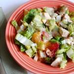 Simple Summer Chopped Salad