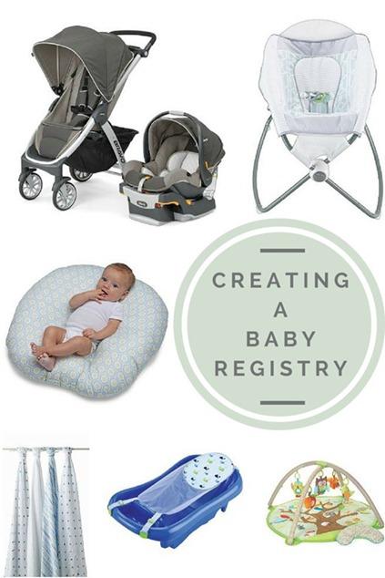 婴儿注册表清单