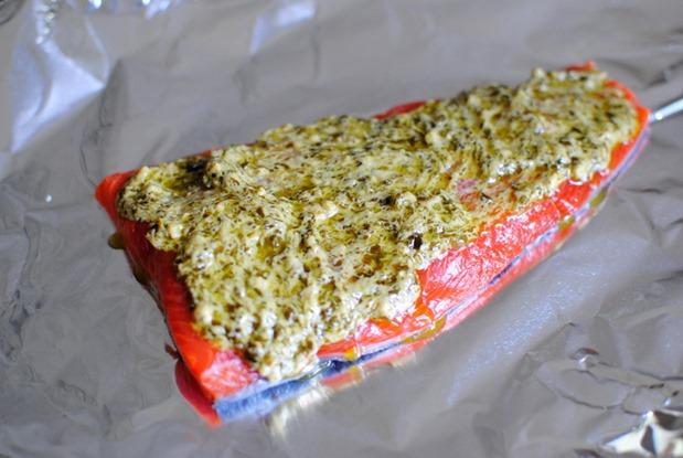 Pesto Salmon Recipe