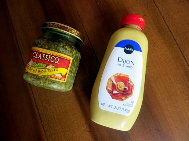 Pesto and Mustard