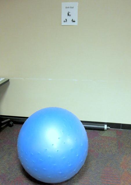 birthing ball