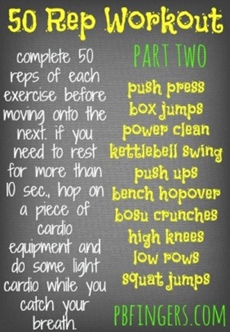 50 Rep Workout