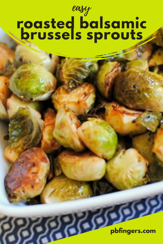 Easy Roasted Balsamic Brussels Sprouts