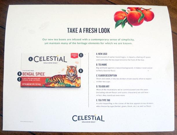 New Look Celestial Seasonings